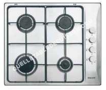 table de cuisson GLEM Gas  GTL6VIX  Table de cuisson au gaz   plaques de cuisson  Niche  largeur  56 cm  profondeur   cm  acier inoxydable
