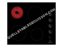 table de cuisson GLEM Table Vitrocã©Ramique  Gth64m Noire