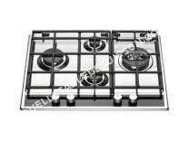table de cuisson HOTPOINT-ARISTON Luce PKL 61 D2/HA(IX)  Table de cuisson au gaz   plaques de cuisson  Niche  largeur  55.5 cm  profondeur  7.5 cm  argent  avec garnitures en acier inoxydable  acier...