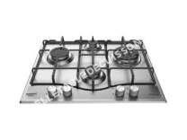 table de cuisson HOTPOINT-ARISTON PNN 641 IX  Table de cuisson  Gaz  4 foyers  3600 W   60  P51 cm  Revêtement Ino