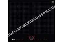 table de cuisson NEFF 90 T66PS61X0  Table de cuisson à induction   plaques de cuisson  iche  largeur  56 cm  profondeur  50 cm  noir