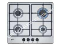 table de cuisson NEFF 50 T26BB60  Table de cuisson au gaz   plaques de cuisson  iche  largeur  56 cm  profondeur   cm  avec garnitures en acier inoxydable  acier inoxydable