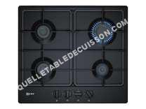 table de cuisson NEFF 50 T26BB6S0  Table de cuisson au gaz   plaques de cuisson  iche  largeur  56 cm  profondeur   cm  noir