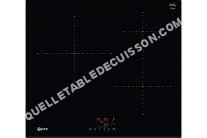 table de cuisson NEFF 50 T6FB20X0  Table de cuisson à induction   plaques de cuisson  iche  largeur  56 cm  profondeur  49 cm  noir  avec avant biseauté  noir