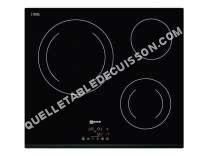 table de cuisson NEFF T11B22X2  Vitrocéramique   plaques de cuisson  Niche  largeur  56 cm  profondeur  49 cm  noir  avec avant biseauté