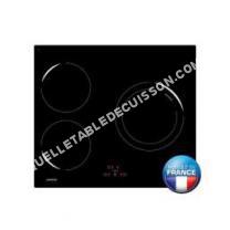 table de cuisson OCEANIC OCEATI3Z1B  Table de cuisson à induction  3 plaques de cuisson  largeur   cm  profondeur   cm  noir  noir