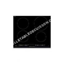 table de cuisson SAUTER SPI62B  Table de cuisson à induction   plaques de cuisson  Niche  largeur  56 cm  profondeur   cm  noir
