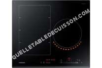 table de cuisson SAMSUNG NZ6K7777BK  Table de cuisson à induction   plaques de cuisson  Niche  largeur  56 cm  profondeur  49 cm  noir  avec avant biseauté
