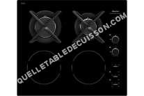 table de cuisson SAUTER SPI61BM  Table de cuisson mixte induction et gaz   plaques de cuisson  Niche  largeur  56 cm  profondeur   cm  noir