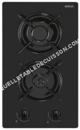 table de cuisson SOGELUX Dgv518 Domino Gaz Noir  Feux