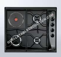 table de cuisson WHIRLPOOL AKM261IX  Table de cuisson gaz et électrique   plaques de cuisson  Niche  largeur  56 cm  profondeur   cm  inox
