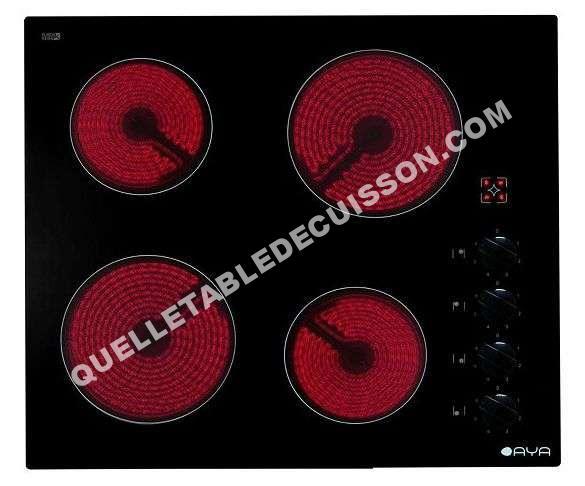 Plaque vitroceramique aya