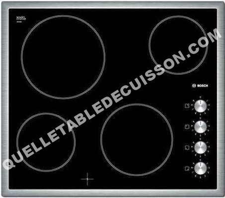 Bosch pke645c17e table de cuisson vitroc ramique moins cher - Table de cuisson vitroceramique bosch ...