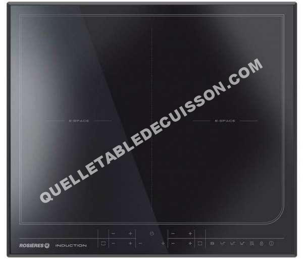 Rosieres resd4 noir table de cuisine for Quel plaque de cuisson choisir