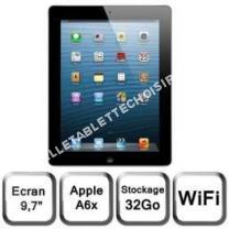 tablette APPLE avec écran retina wifi 32 go noir