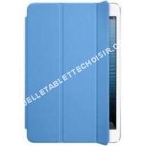 tablette APPLE mini  Cover polyuréthane   coloris bleu