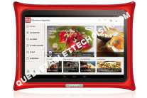 tablette QOOQ Tablette culinaire  TABLETTE V4 ROUGE
