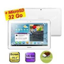 tablette SAMSUNG galaxy tab  101 blanc  carte sd 3go