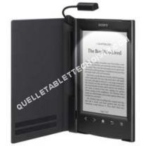 tablette SONY ebook housse noire+lpe prst2