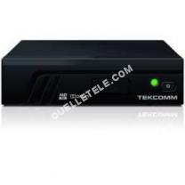 Télé TEKCOMM Décodeur TNT HD TCT 2100