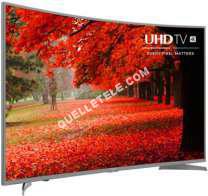 Télé Hisense TV UHD 4K  55N6600 INCURVÉ  WIFI