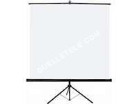 Télé Oray Ecran manuel sur trépied carré 125 x 125 SCREEN
