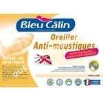 lit   Oreiller Anti moustiques Bleu Câlin 60x60