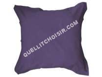 lit   Taie d'oreiller 63x63 cm UNICO coloris deep purple