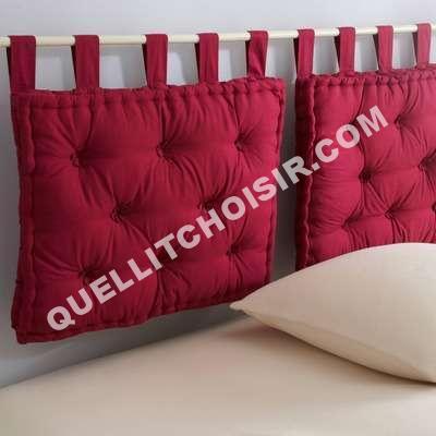 Mobilier table tete de lit 3 suisses - Tissus matelasse pour tete de lit ...