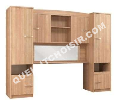 Meuble lit pont fly table de lit - Couche adulte leclerc ...
