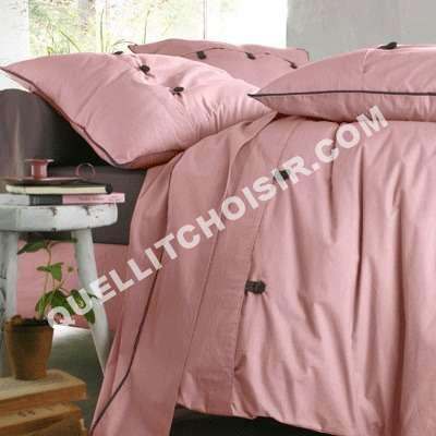 housse de couette rose poudre. Black Bedroom Furniture Sets. Home Design Ideas