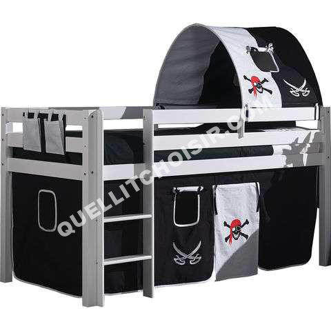lit cabane pirate. Black Bedroom Furniture Sets. Home Design Ideas