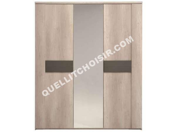 free conforama armoire portes porte miroir anouk armoire miroir porte conforama with lit placard. Black Bedroom Furniture Sets. Home Design Ideas