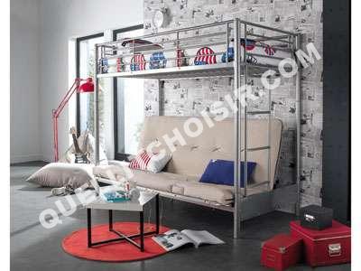 lit mezzanine 2 places conforama top lit mezzanine x cm. Black Bedroom Furniture Sets. Home Design Ideas