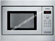micro-ondes SIEMENS HF15M551  Four microondes monofonction  intégrable  17 litres  800 att  inox