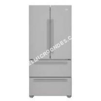 micro-ondes BEKO Réfrigérateur Combiné  REM60S  Classe A+ Argenté(e