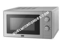 micro-ondes BEKO MGC20100S  Four microondes combiné  grill  pose libre  20 litres  700 Watt  argenté(e)
