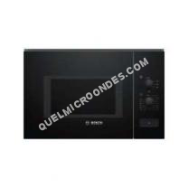 micro-ondes BOSCH BF550MB0  Microondes monofonction encastrable noir  25   900