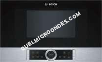 micro-ondes BOSCH Bfr634gs1  MicroOndes Compact 900 W MicroOndes  Autopilot   Éclairage Led  Charnières  Droite Inox