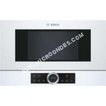 micro-ondes BOSCH Serie   BFL634GW1  Four microondes monofonction  intégrable  21 litres  900 Watt  blanc