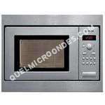micro-ondes BOSCH HMT75M551  Four microondes monofonction  intégrable  17 litres  800 att  acier inoxydable