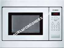 micro-ondes BOSCH HMT75M521  our microondes monofonction  intégrable  17 litres  800 Watt  blanc