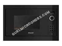 micro-ondes BRANDT Four microondes encastrable  BMS6115B Quattro Pulse NOIR