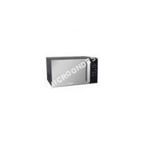 micro-ondes BRANDT SM2606B  Four microondes monofonction  pose libre  26 litres  900 Watt  noir/miroir