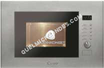 micro-ondes CANDY MIC 20 GDFX  Micro ondes grill encastrable inox 20L800 Grill 1000