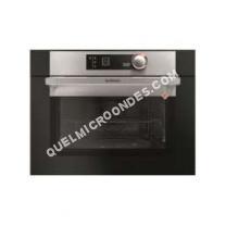 micro-ondes DE DIETRICH DKE7335X  Four microondes monofonction  intégrable  40 litres  1000 Watt  noir/inox