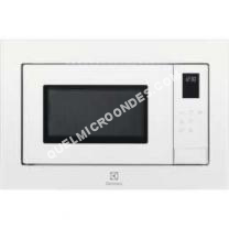 micro-ondes ELECTROLUX ELECTROLUX Four micro ondes Grill encastrable 25 Litres, coloris Blanc LMS4253TMW