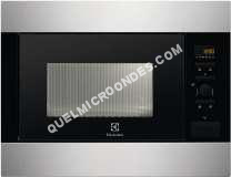 micro-ondes ELECTROLUX EMS26054OX  Microondes inox  26L  900W  Encastrable