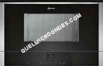 micro-ondes NEFF C17WR01N0  Four microondes monofonction  intégrable  21 litres  900 Watt  acier inoxydable