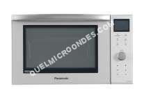 micro-ondes PANASONIC NNDF385MEPG  Slimline  four microondes combiné  grill  pose libre  23 litres  1000 Watt  argenté(e)